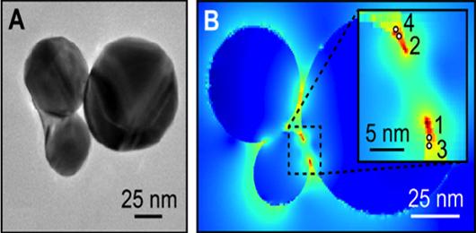Probing Temperature at the Nanometer Scale