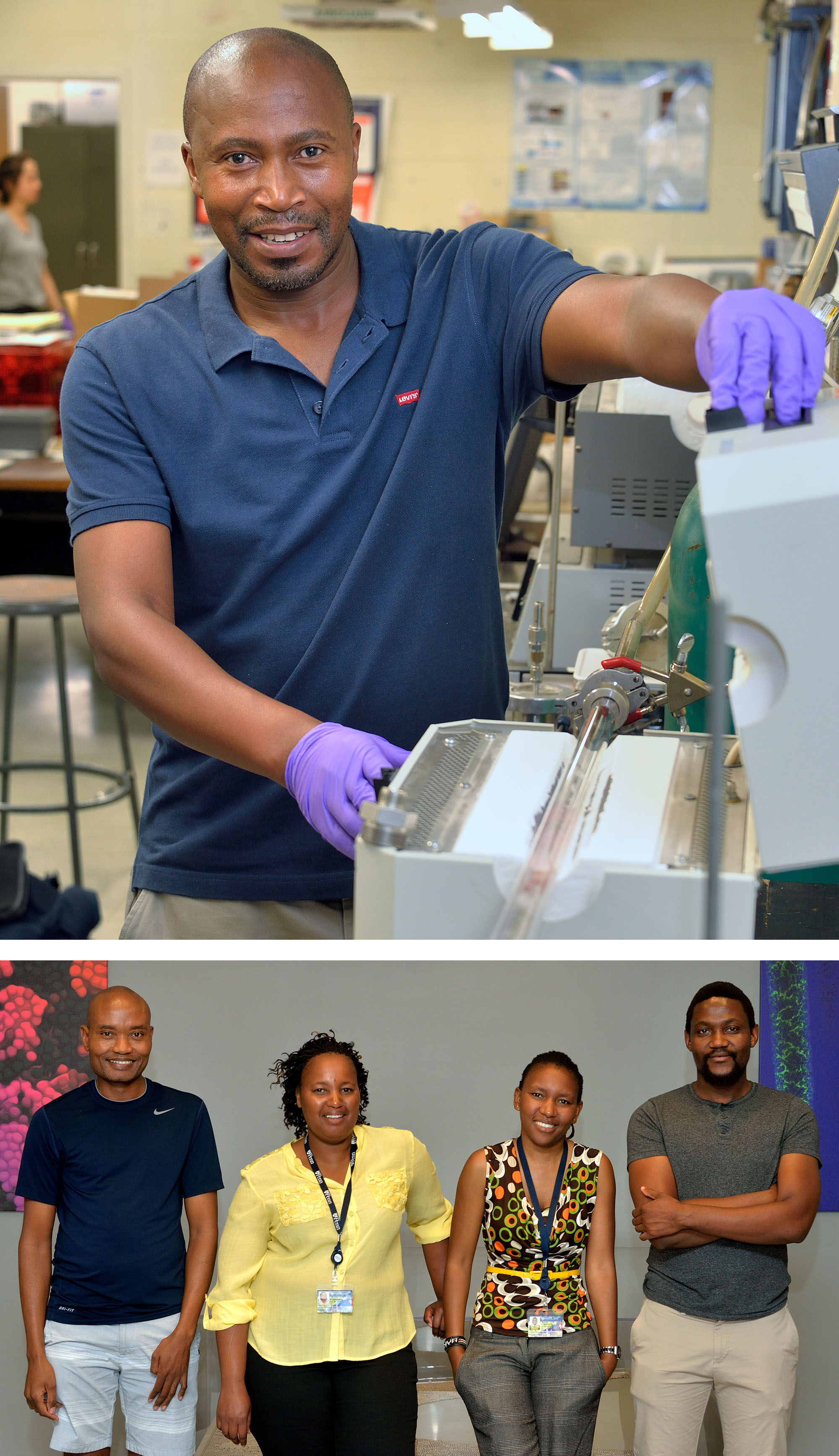Prof. Moeketsi Mpholo (National U. of Lesotho), and his graduate student, Teboho Nchaba (U. of Cape Town) worked with Prof. Bau (MEAM). Palesa Phooko worked with Prof. Thomson (and now Prof. Anna in 2019). Dr. Tebello Mahamo (National U. of Lesotho) worked with Prof. Berry (and now Prof. Tomson in 2019).