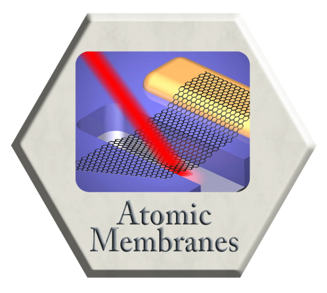 Atomic Membranes as Molecular Interfaces