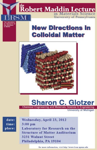 Robert Maddin Lecture, New Directions in Colloidal Matter